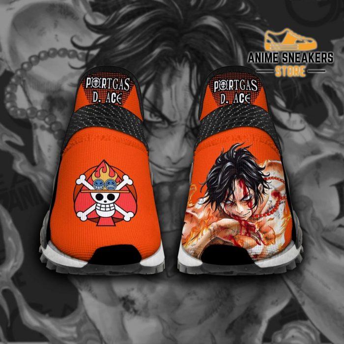 Portgas D Ace Shoes One Piece Custom Anime Tt11 Men / Us6 Nmd