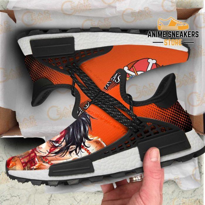 Portgas D Ace Shoes One Piece Custom Anime Tt11 Nmd