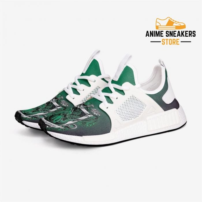 Power Rangers Tommy Green Custom Nomad Shoes 3 / White Mens