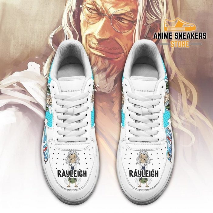 Rayleigh Sneakers Custom One Piece Anime Shoes Fan Pt04 Air Force