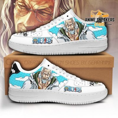 Rayleigh Sneakers Custom One Piece Anime Shoes Fan Pt04 Men / Us6.5 Air Force