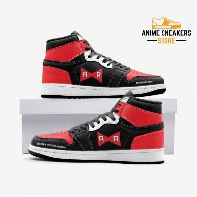 Red Ribbon Army Dragon Ball Custom J-Force Shoes 3 / White Mens