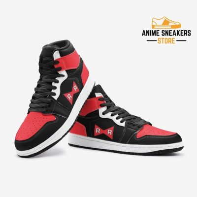 Red Ribbon Army Dragon Ball Custom J-Force Shoes Mens