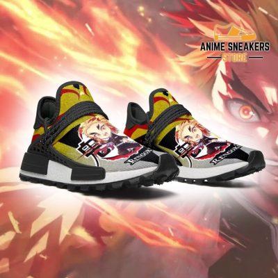 Rengoku Shoes Custom Demon Slayer Anime Sneakers Nmd