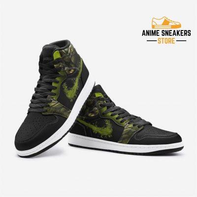 Reptile Mortal Kombat Custom J-Force Shoes Mens