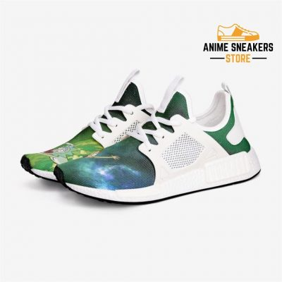 Rick And Morty Portal Custom Nomad Shoes 3 / White Mens