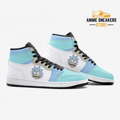 Rick Got Angry And Morty Custom J-Force Shoes Mens