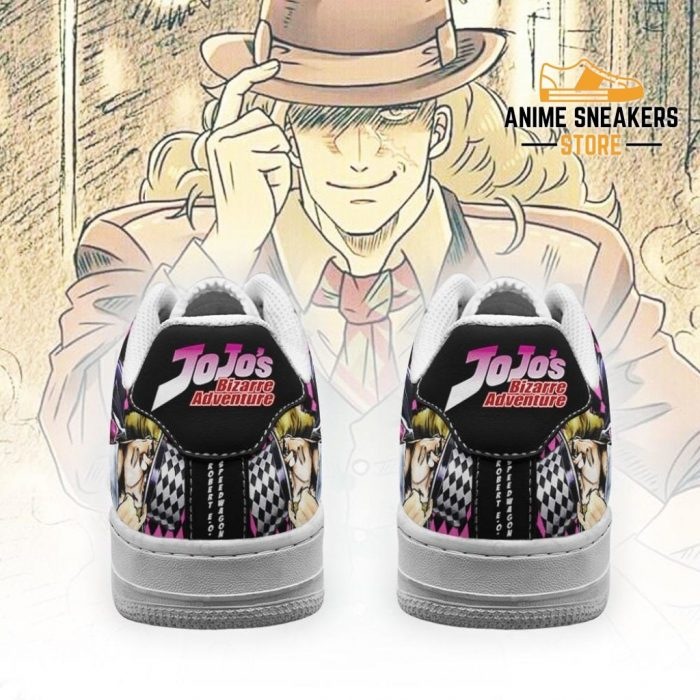 Robert E. O. Speedwagon Sneakers Jojo Anime Shoes Fan Gift Idea Pt06 Air Force