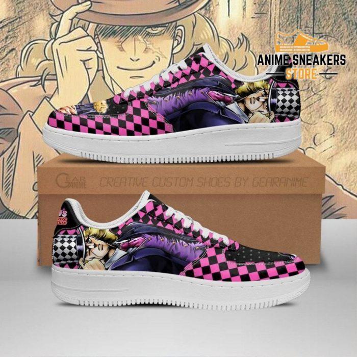 Robert E. O. Speedwagon Sneakers Jojo Anime Shoes Fan Gift Idea Pt06 Men / Us6.5 Air Force