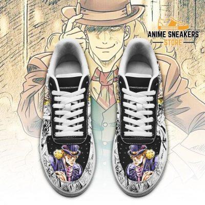 Robert Speedwagon Sneakers Manga Style Jojos Anime Shoes Fan Gift Pt06 Air Force