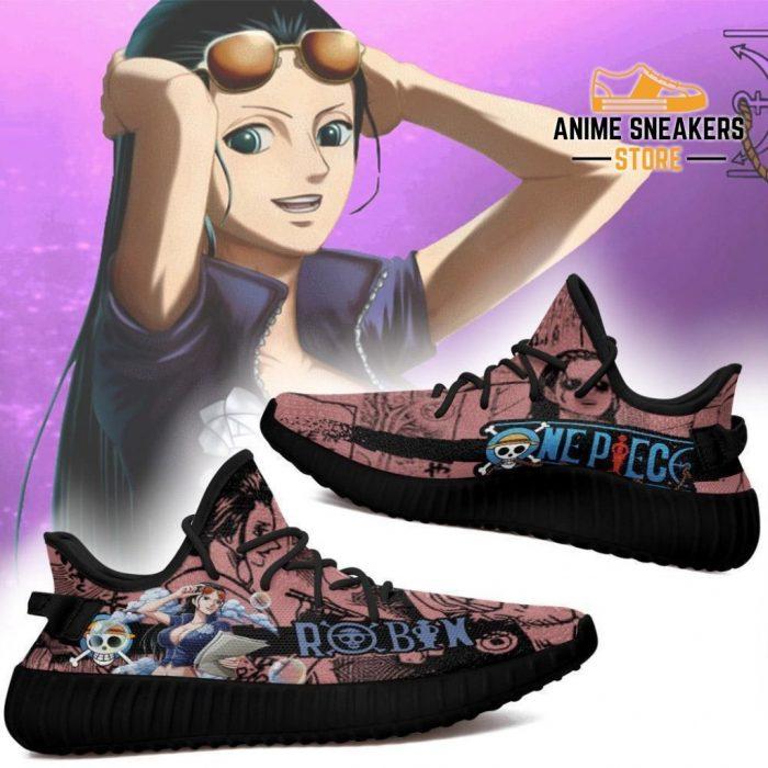 Robin Yeezy Shoes One Piece Anime Fan Gift Tt04