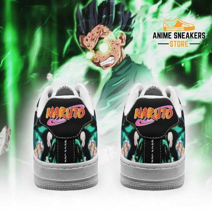Rock Lee Sneakers Custom Naruto Anime Shoes Leather Air Force