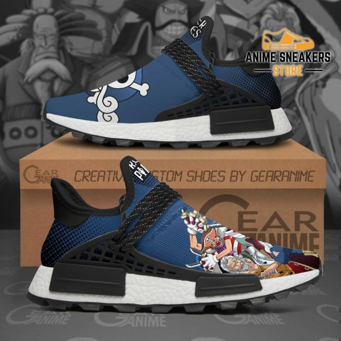 Roger Pirates Shoes One Piece Custom Anime Tt12 Nmd