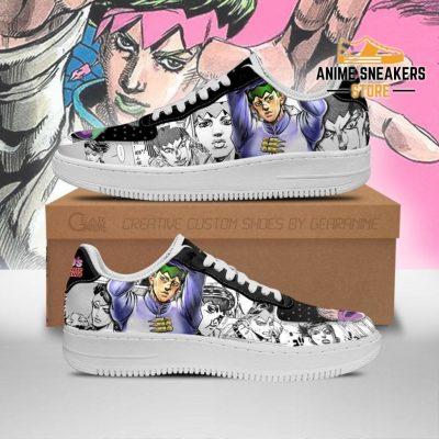 Rohan Kishibe Sneakers Manga Style Jojo Anime Shoes Fan Gift Pt06 Men / Us6.5 Air Force