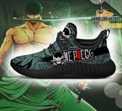Roronoa Zoro Reze Shoes One Piece Anime Fan Gift Idea Tt04