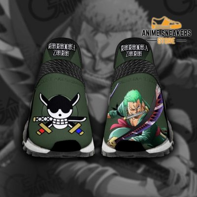 Roronoa Zoro Santoryu Shoes One Piece Custom Anime Tt11 Men / Us6 Nmd