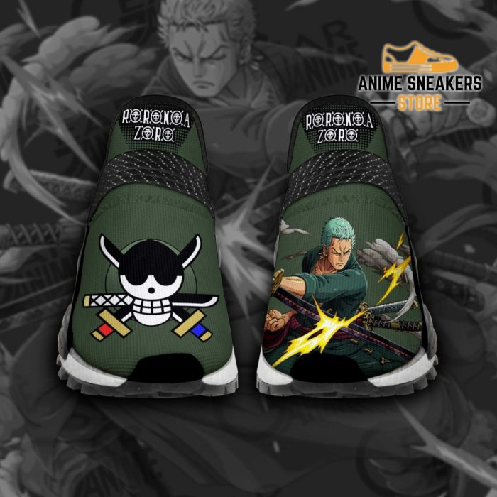 Roronoa Zoro Shoes One Piece Custom Anime Tt11 Men / Us6 Nmd