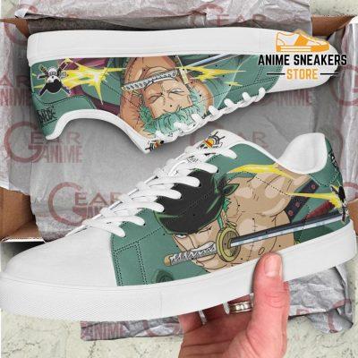 Roronoa Zoro Skate Shoes One Piece Custom Anime