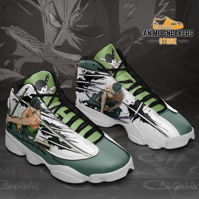 Roronoa Zoro Sneakers One Piece Anime Shoes Jd13