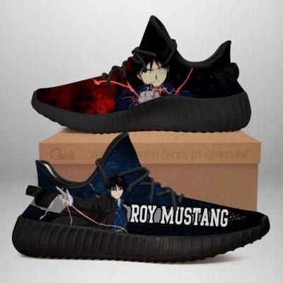 Roy Mustang Yeezy Shoes Fullmetal Alchemist Anime Sneakers Fan Gift Idea TT05 Men / US6 Official Fullmetal Alchemist  Merch