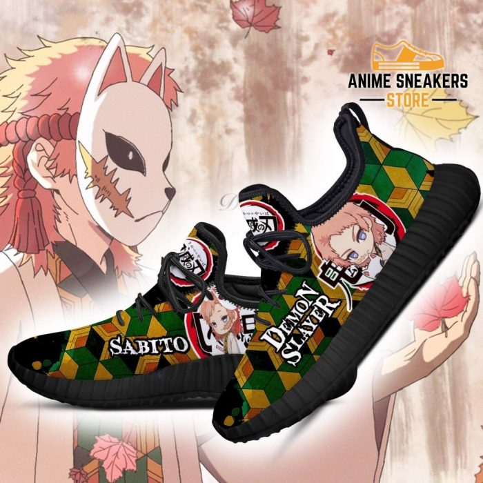 Sabito Reze Shoes Demon Slayer Anime Sneakers Fan Gift Idea