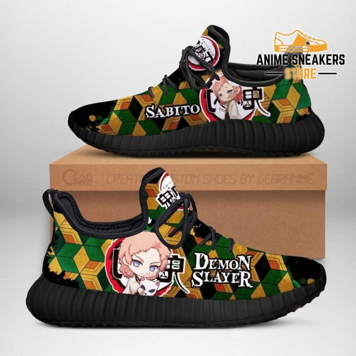 Sabito Reze Shoes Demon Slayer Anime Sneakers Fan Gift Idea Men / Us6