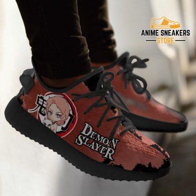 Sabito Yeezy Shoes Demon Slayer Anime Sneakers Fan Gift Tt04