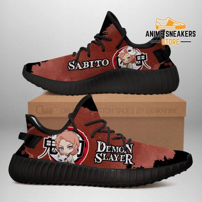 Sabito Yeezy Shoes Demon Slayer Anime Sneakers Fan Gift Tt04 Men / Us6