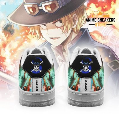 Sabo Sneakers Custom One Piece Anime Shoes Fan Pt04 Air Force