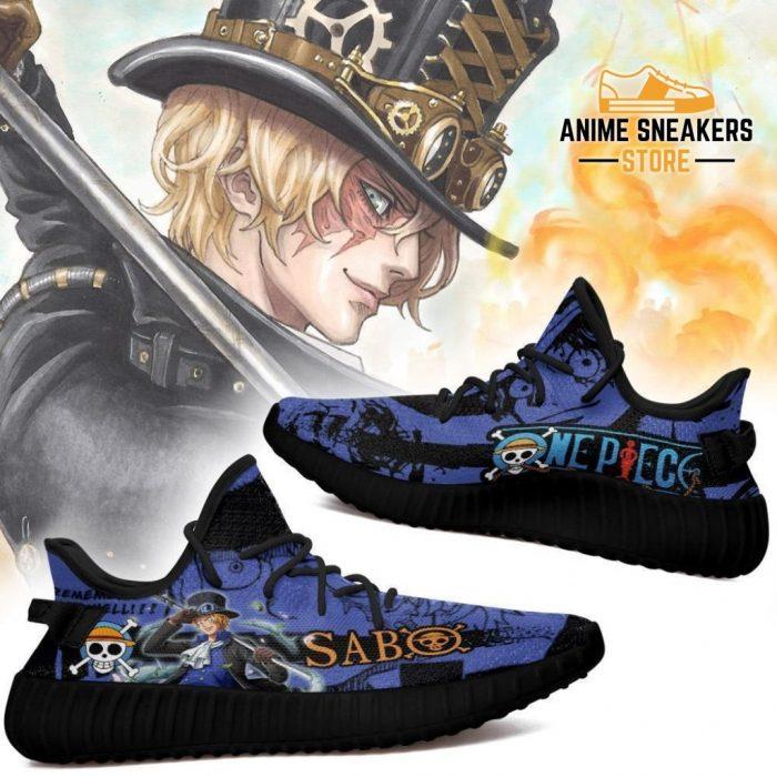 Sabo Yeezy Shoes One Piece Anime Fan Gift Tt04