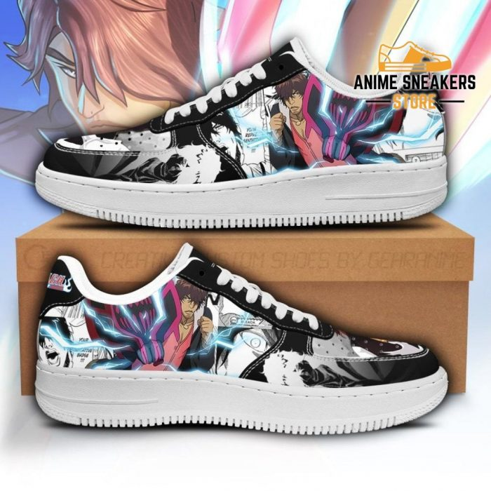 Sado Chad Sneakers Bleach Anime Shoes Fan Gift Idea Pt05 Men / Us6.5 Air Force
