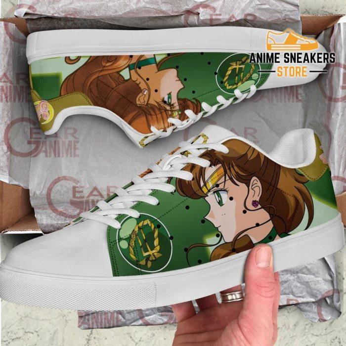 Sailor Jupiter Skate Shoes Moon Anime Custom Pn10