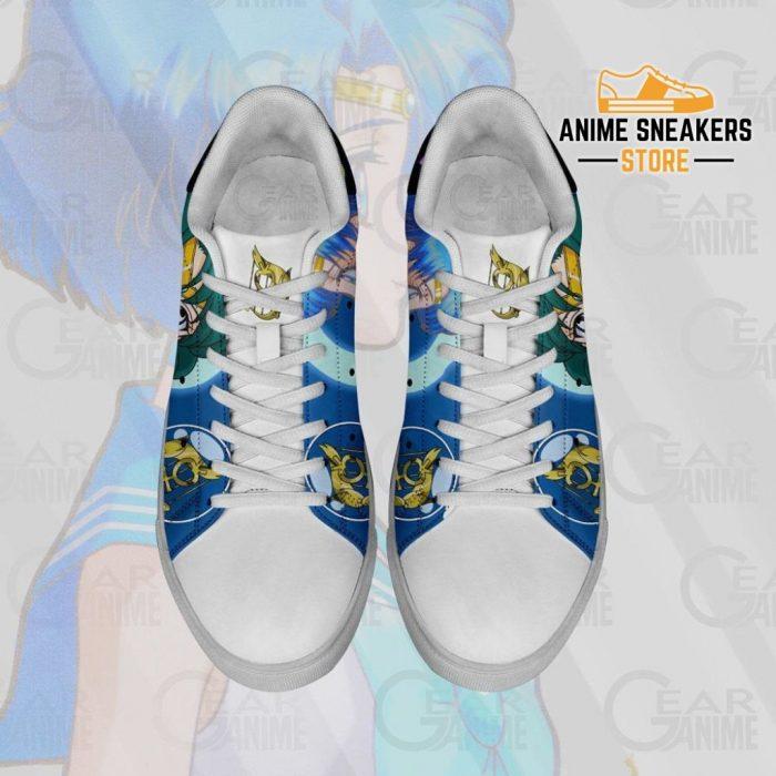 Sailor Mercury Skate Shoes Moon Anime Custom Pn10
