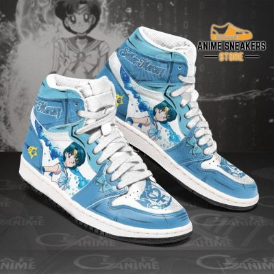 Sailor Mercury Sneakers Moon Anime Shoes Mn11 Jd