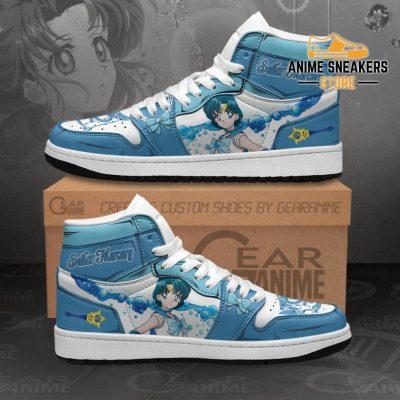 Sailor Mercury Sneakers Moon Anime Shoes Mn11 Men / Us6.5 Jd