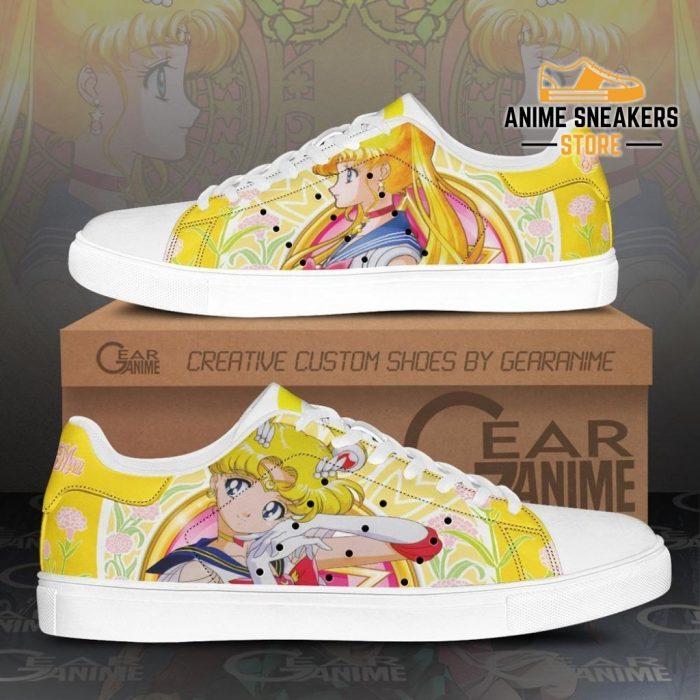 Sailor Moon Skate Shoes Anime Custom Pn10 Men / Us6