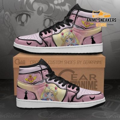 Sailor Moon Sneakers Custom Anime Shoes Mn02 Men / Us6.5 Jd