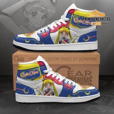 Sailor Moon Sneakers Custom Anime Shoes Mn11 Men / Us6.5 Jd