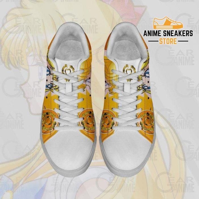 Sailor Venus Skate Shoes Moon Anime Custom Pn10