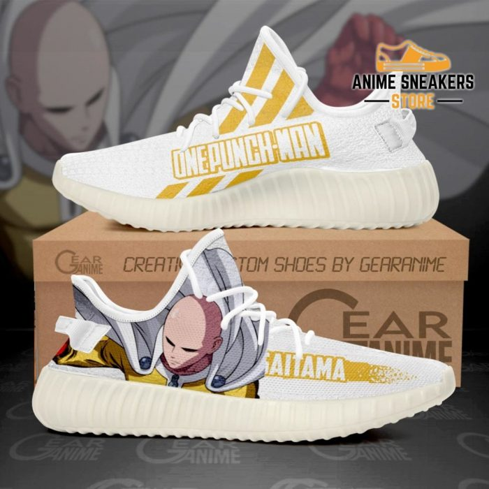 Saitama Shoes Cool One Punch Man Custom Anime Sneakers Tt10 Men / Us6 Yeezy