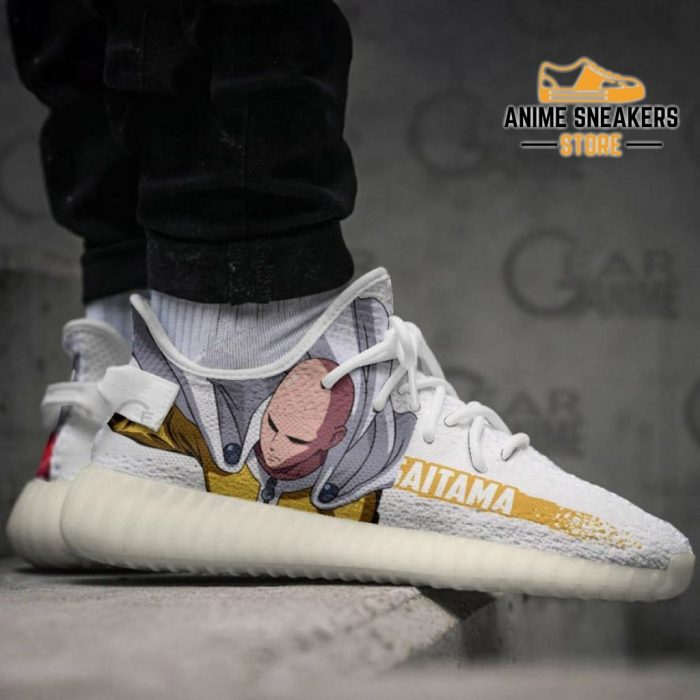 Saitama Shoes Cool One Punch Man Custom Anime Sneakers Tt10 Yeezy