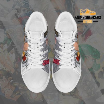 Saitama Skate Shoes One Punch Man Custom Anime Pn11