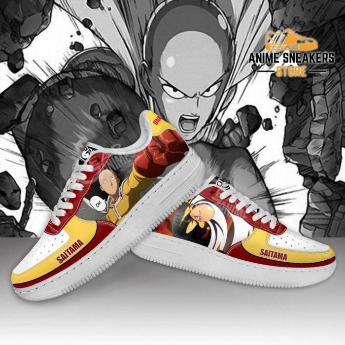 Saitama Sneakers One Punch Man Anime Custom Shoes Pt09 Air Force