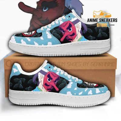 Sakonji Sneakers Custom Demon Slayer Anime Shoes Fan Pt05 Men / Us6.5 Air Force