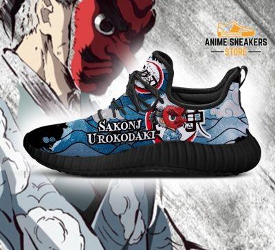 Sakonji Urokodaki Reze Shoes Demon Slayer Anime Sneakers Fan Gift Idea