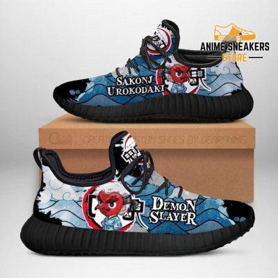 Sakonji Urokodaki Reze Shoes Demon Slayer Anime Sneakers Fan Gift Idea Men / Us6