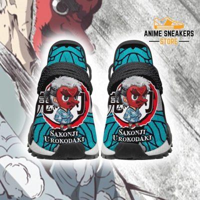 Sakonji Urokodaki Shoes Custom Demon Slayer Anime Sneakers Men / Us6 Nmd