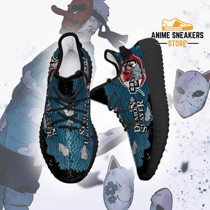 Sakonji Yeezy Shoes Demon Slayer Anime Sneakers Fan Gift Tt04