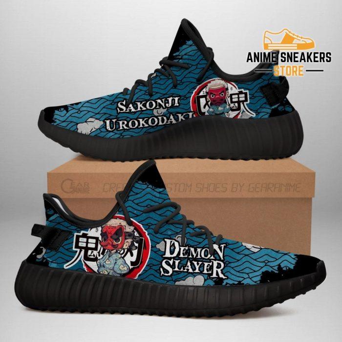 Sakonji Yeezy Shoes Demon Slayer Anime Sneakers Fan Gift Tt04 Men / Us6