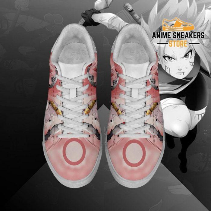 Sakura Haruno Skate Shoes Naruto Anime Custom Pn10